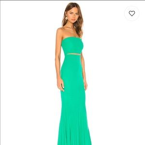 Revolve Pryce Gown in Green NWT